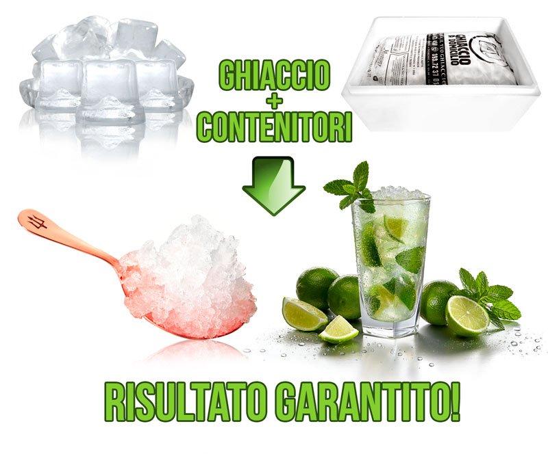Vendita Ghiaccio roma in contenitori sicuri!