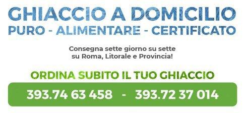 Ghiaccio a Domicilio su Roma e Provincia in 1 ora - Chiamaci al 3937463458 oppure al 3937237014